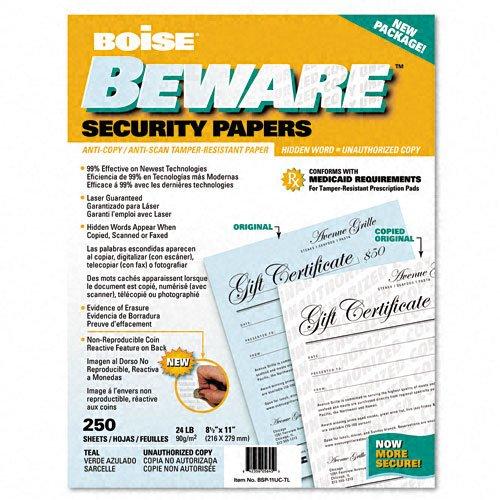 Beware Business Security Paper - 1