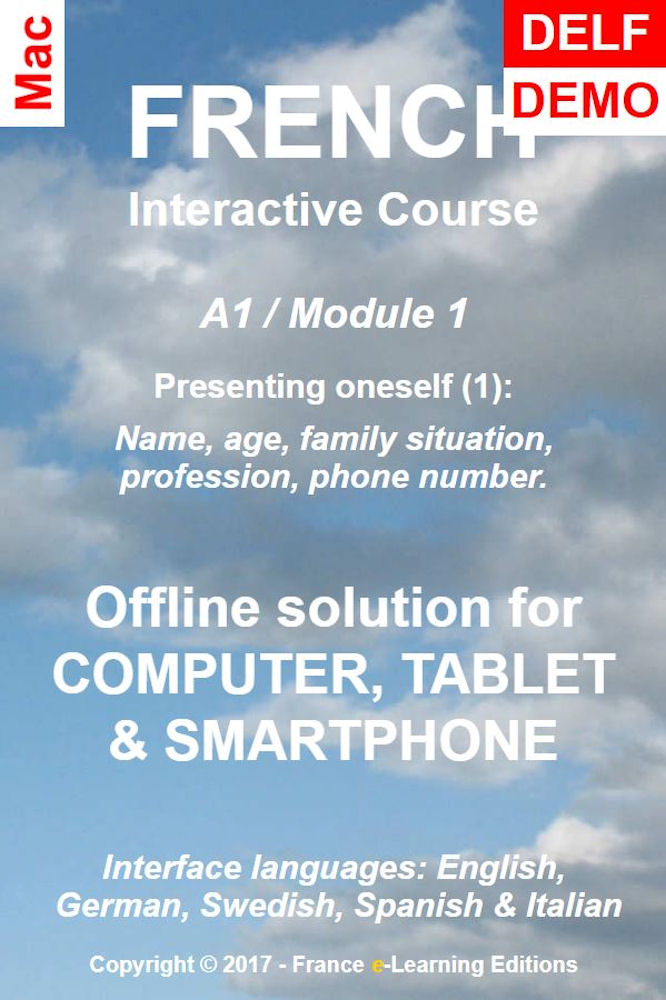 Learn French: Interactive Course - A1 (Beginner) / Module 1: