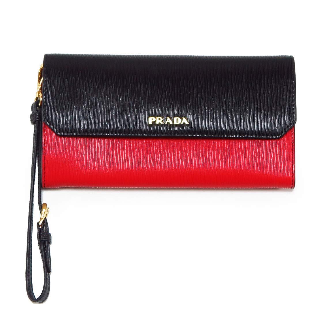 プラダ 財布 レディース PRADA 長財布 メンズ 二つ折り長財布 1DF003 [並行輸入品] B07NRDRZF9