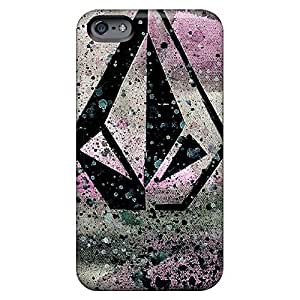 Hot mobile phone carrying cases Hd Eco Package iphone 6 plusd 5.5 - volcom logo
