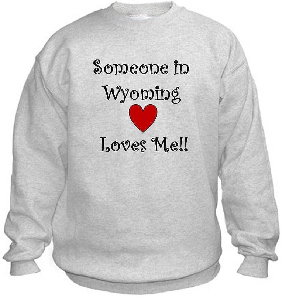 SOMEONE IN WYOMING LOVES ME - State-series - Light Grey Sweatshirt