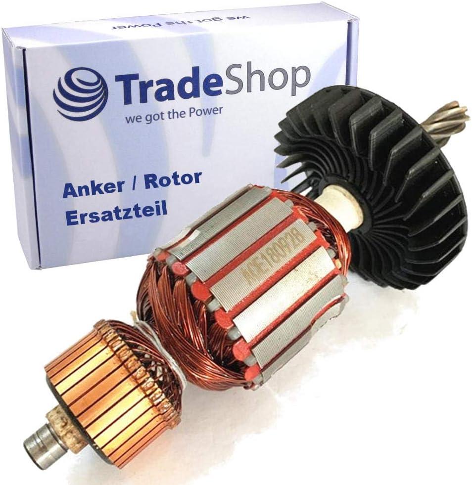 HM1242C Anker//Rotor//Motor Ersatzteil//L/äufer//Kollektor//Polpaket mit L/üfter f/ür Makita Stemmhammer HM1202C HM 1242 C HM 1202 C