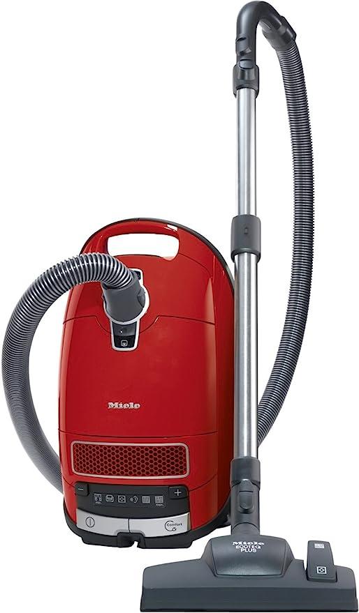 Miele aspiradora complete C3 Excellence EcoLine rojo Mangue 4.5 ...