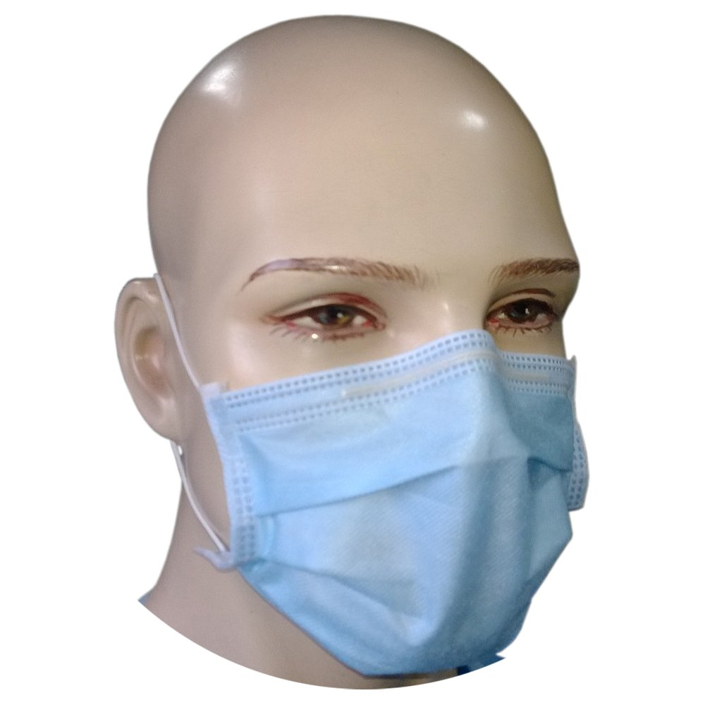 Mask Surgical Pcs Face Filtra Tt-4bem 99 gt; Loop bfe - 4-ply 50 Blue Ear