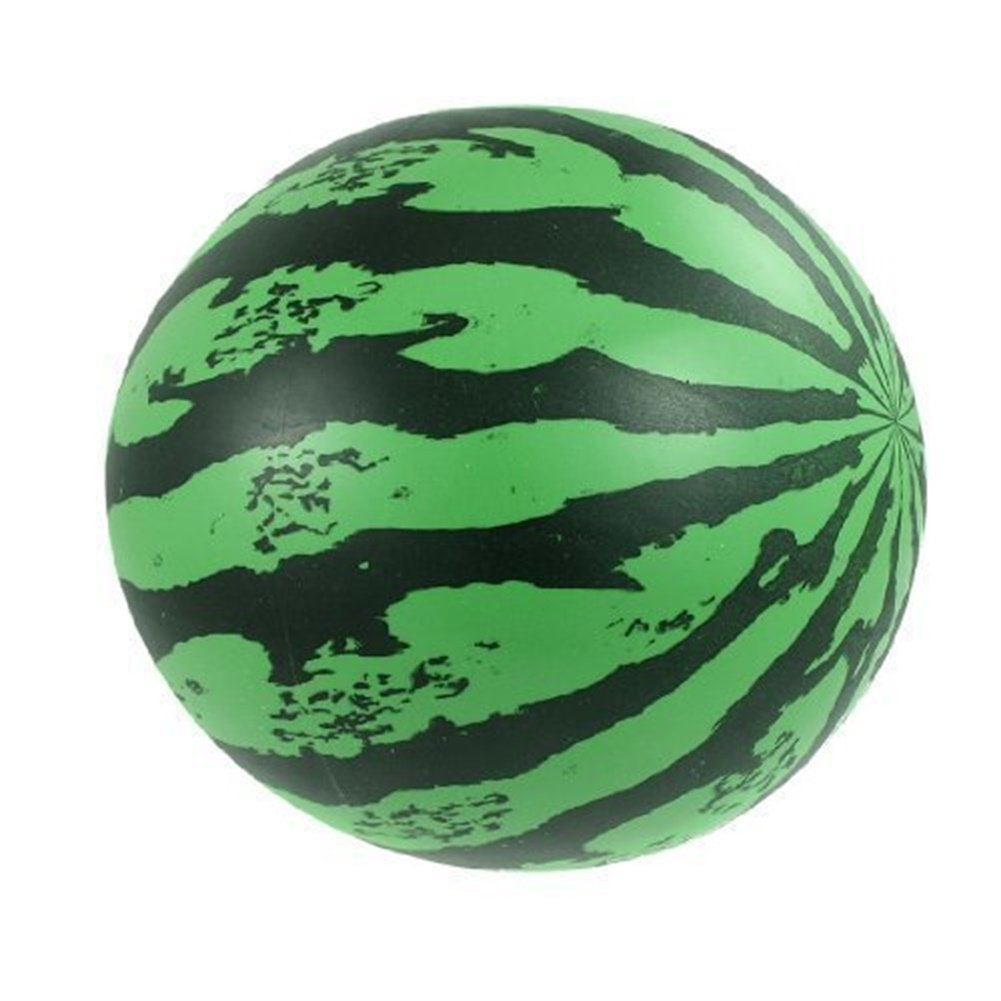 Outdoor Inflatable Beach Ball Lightweight Bouncy Watermelon Ball Toys for Boys and Girls Amyove