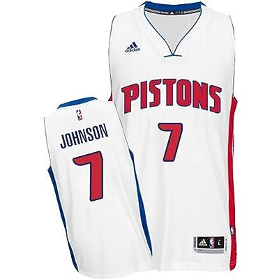 Stanley Johnson Detroit Pistons Adidas Youth White Swingman Jersey