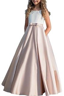 HotGirls Vestidos de la primera comunión de las muchachas Princesa Vestidos encantadores