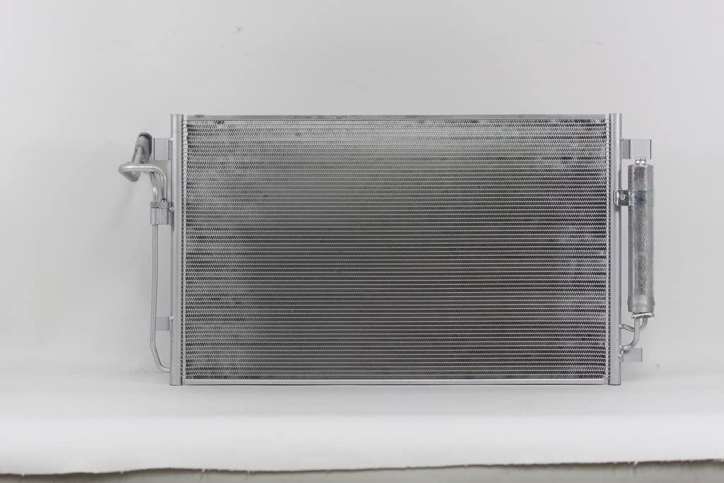 ECCPP Auto Parts Air Conditioning A//C AC Condenser Aluminum A//C AC Condenser Replacement Radiator for 2011 2012 2013 2014 for Hyundai Sonata 2.4L Limited
