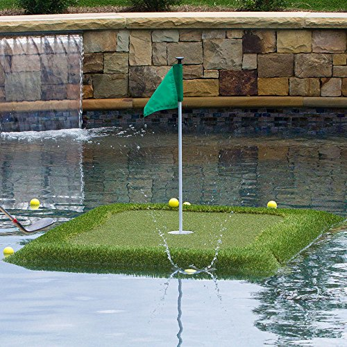 Retail Turf Solutions Floating Golf Green 4X6 ft ''Original'' Floating Golf Green by Retail Turf Solutions