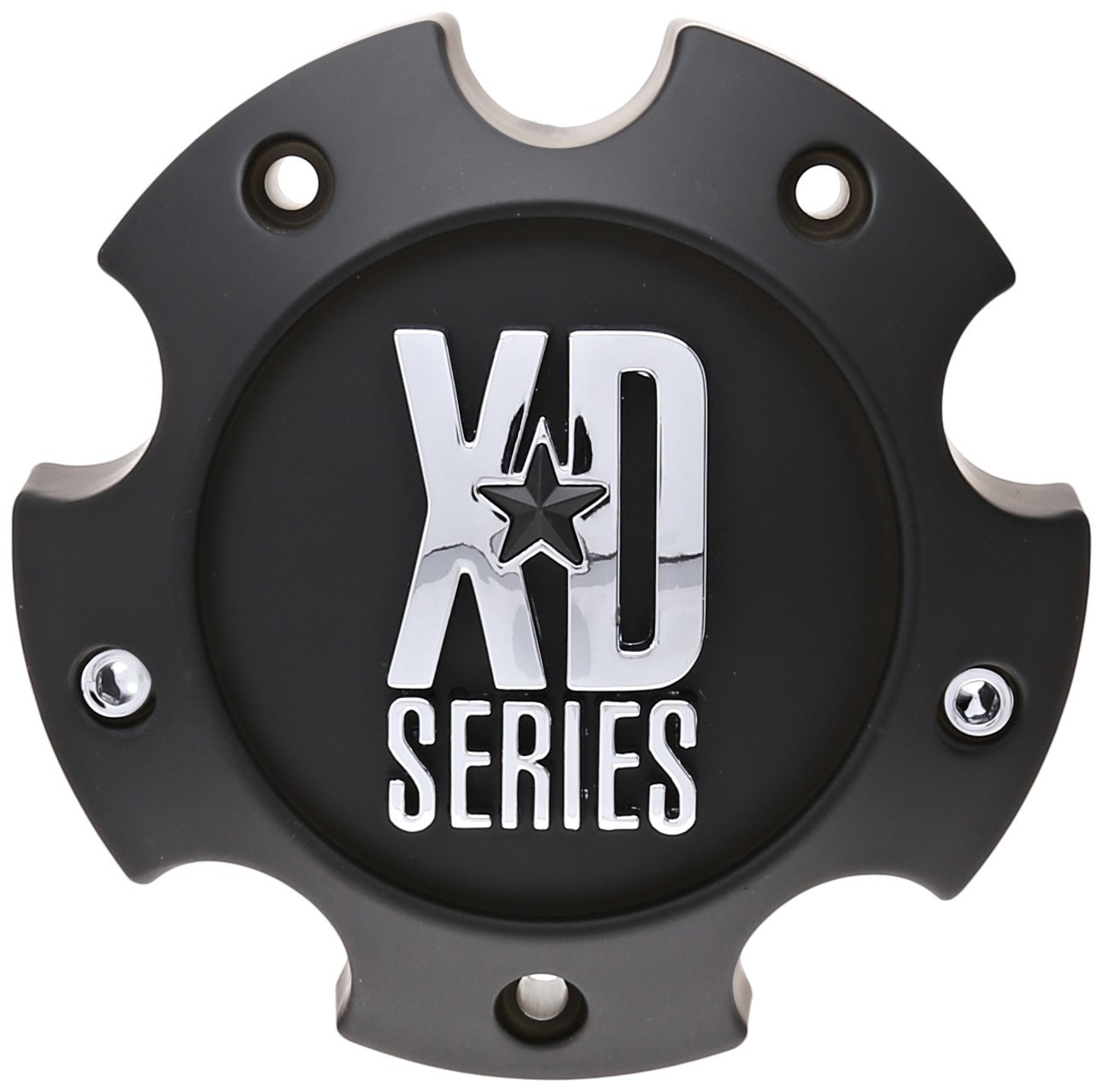 KMC-XD-Series-796-797-798-Matte-Black-5-Lug-Wheel-Rim-Center-Cap-1079L145A