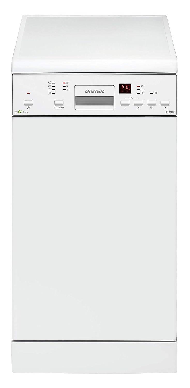 Lavavajillas estrecho blanco Brandt DFS1010W: Amazon.es: Grandes ...