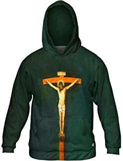 Yizzam Mens Hoodie 2706 Tintoretto The Martyrdom of St Allover Print