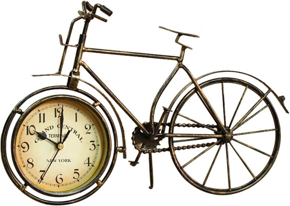 S.W.H Metal Vintage Hovis Reloj de Bicicleta Reloj de Bicicleta de Mesa Ornamento del Reloj