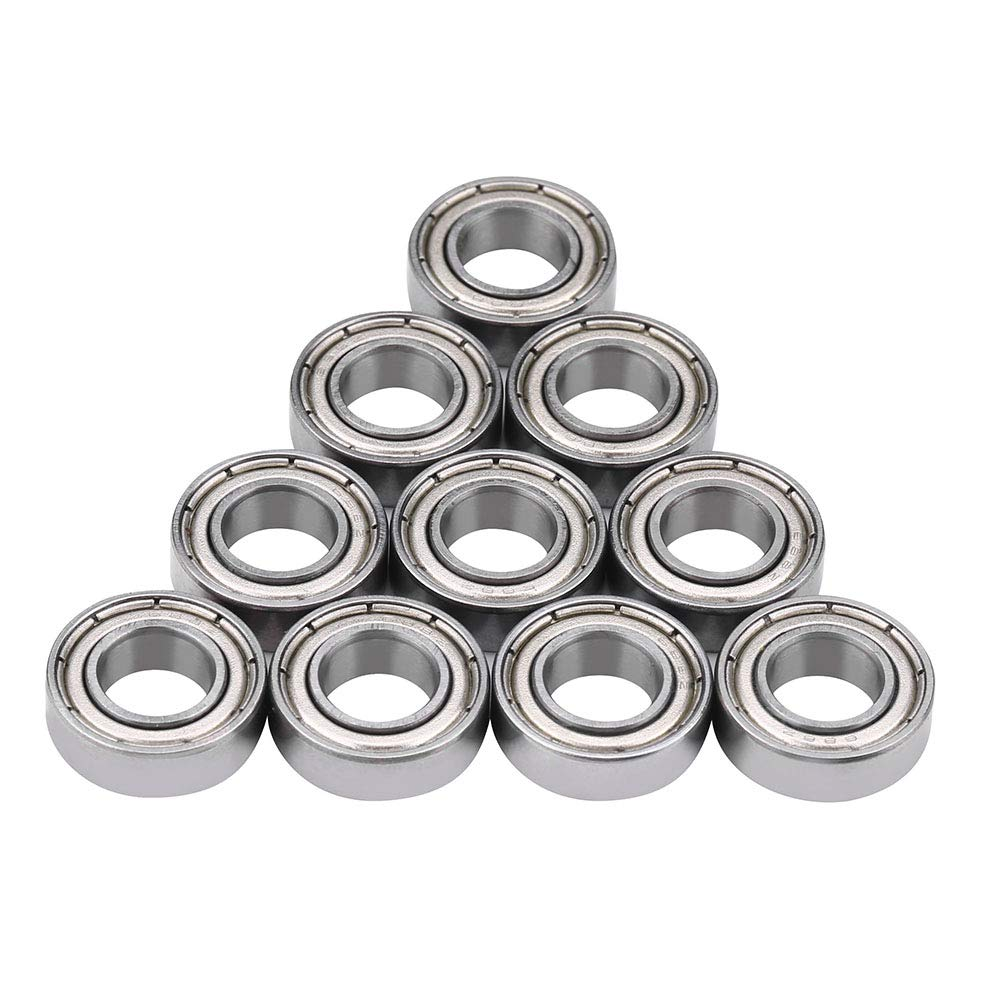 RC Car Steel Rolling Ball Bearing, RC Replacement Metal Bearing Parts Accessory