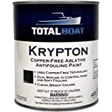 TotalBoat Krypton Copper Free Antifouling – Marine Ablative Boat Bottom Paint | for Fiberglass, Wood, Aluminum & Steel Boats