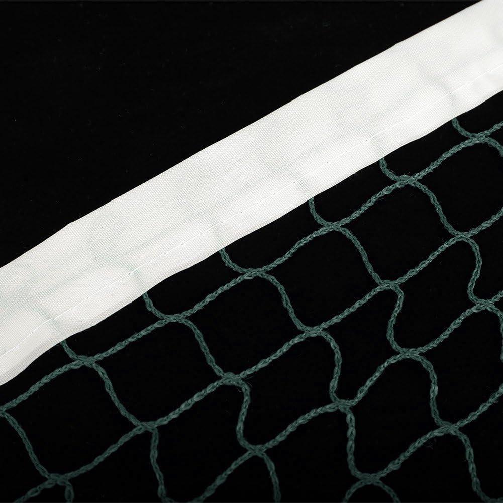 reti da Badminton Rete da Allenamento Regolabile Regolabile da Badminton VGEBY1 Rete da Badminton Accessori da Competizione per Gli Sport allAria Aperta Giochi da Maglia