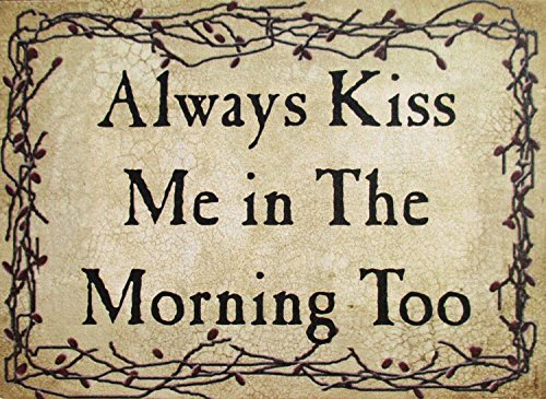 kiss the cook wooden sign - 3