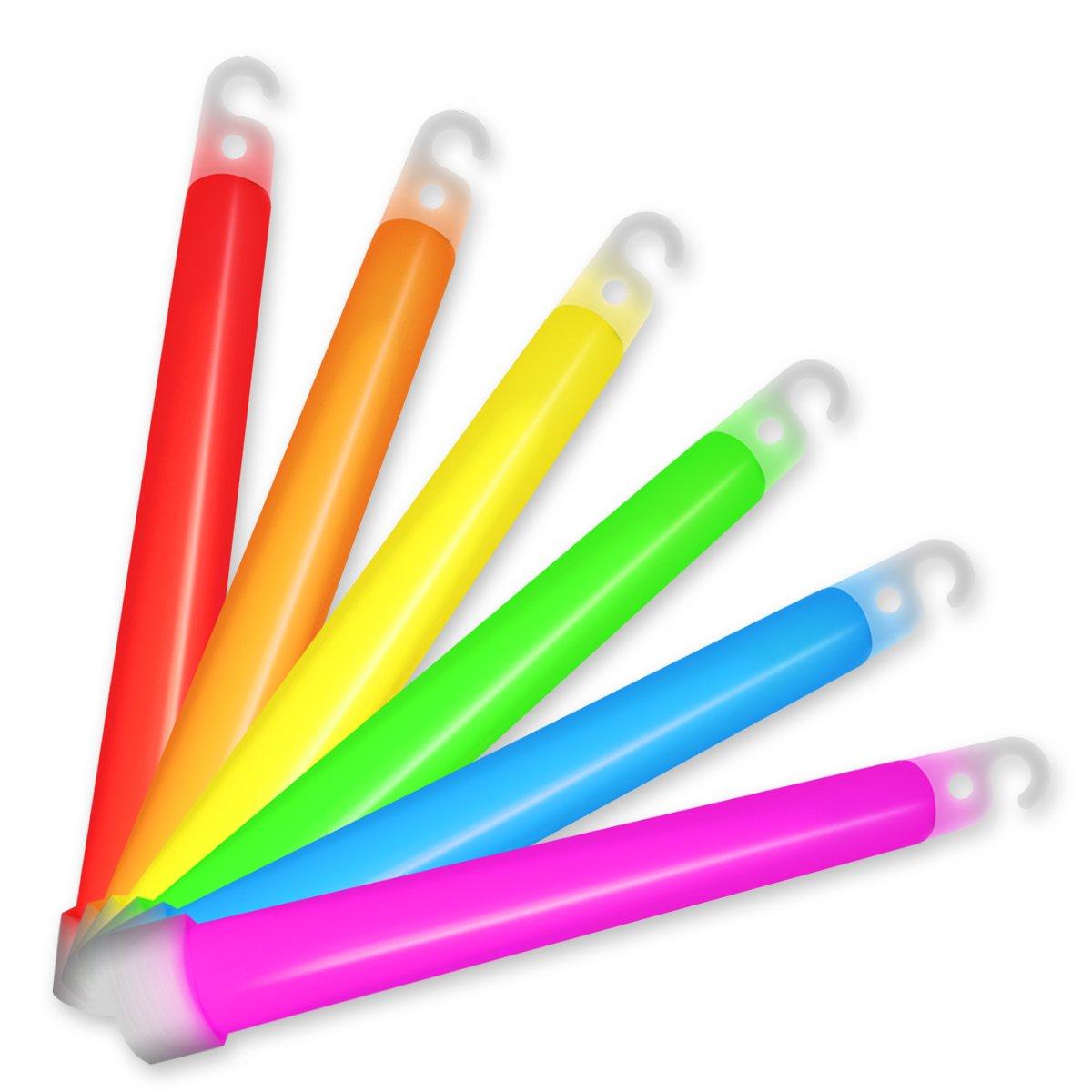 Galleon 25 Premium 6 Quot Glow Sticks In Assorted Colors