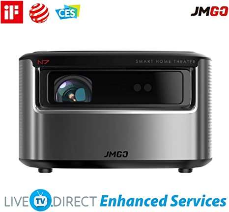 JmGO N7 Home Projector Native 1080p HD Android 3D Smart TV ...
