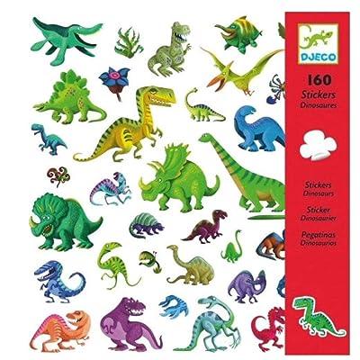 DJECO DJ08843 Stickers-Dinosaurs Novelty: Varios: Toys & Games