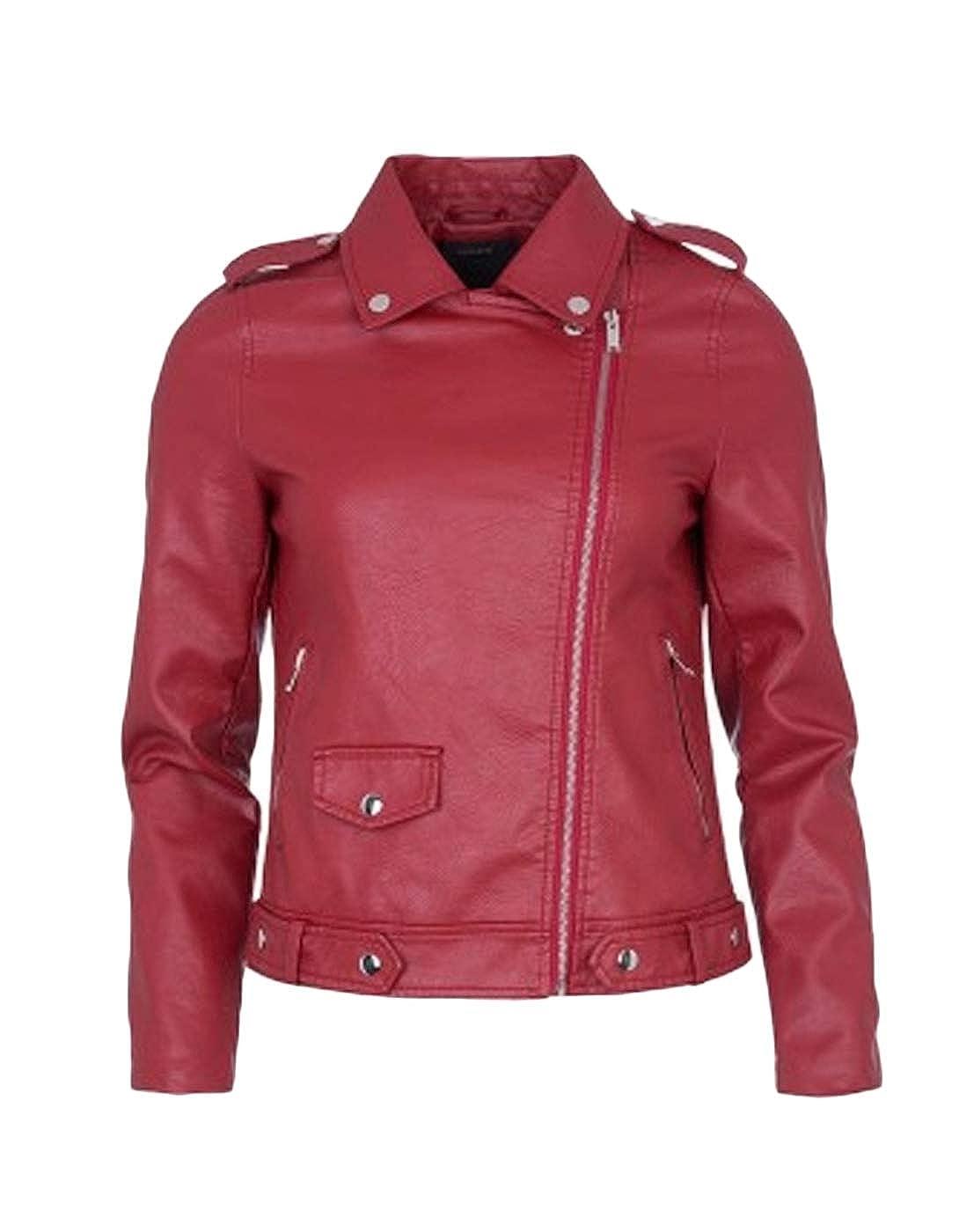 7ea760feb02 Tiffosi Cazadora Biker roja (M - Bronce)  Amazon.es  Ropa y accesorios