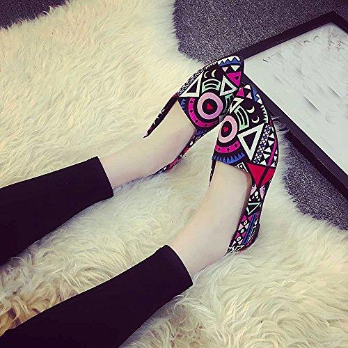 Women Loafers ? Vanvler Lady Slip On Flat Shoes Ballet Doug Shoes All Seasons by Vanvler ❤ Women Shoes (Image #9)