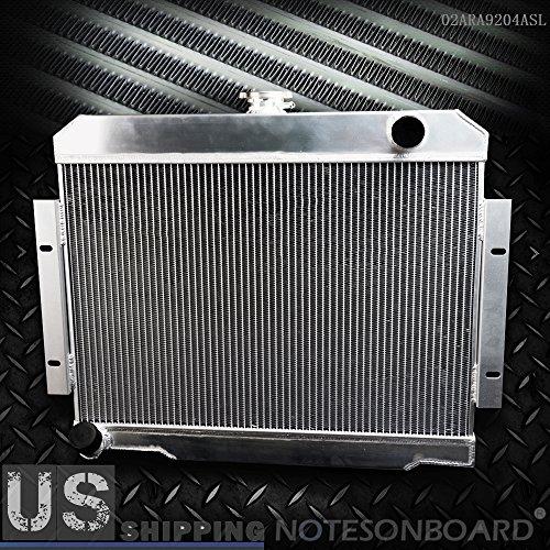 - 2 Row Core Full Aluminum Racing Radiator Replacement For 1972-1986 JEEP CJ CJ5 CJ6 CJ7 3.8-5.0 MT