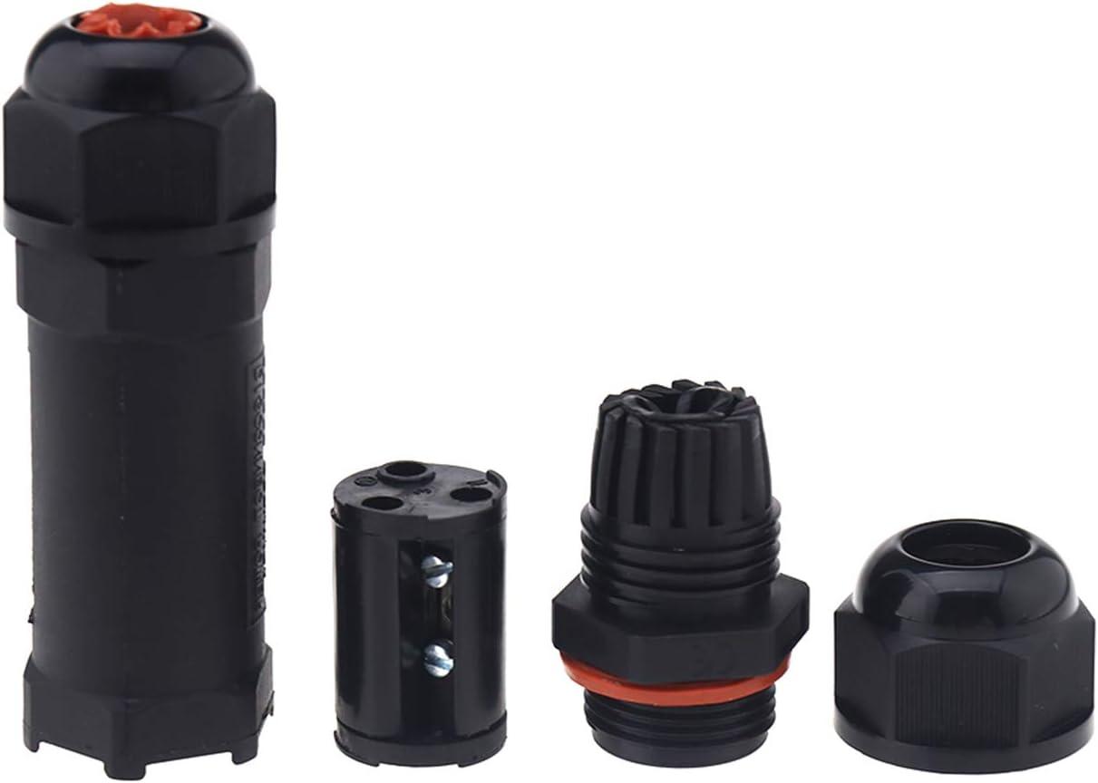 3 Pines ENET IP68 Caja de Conexiones Impermeable para Exteriores Conector de Cable el/éctrico Externo 16 A 250 V