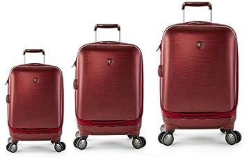 Equipaje, Maletas y Bolsas de Viaje - Premium Designer Maleta Rígida Set 3 Piezas - Heys Crown Smart ...
