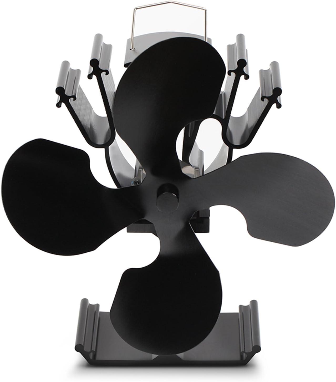 fonctionnement sans /électricit/é 4 Fl/ügel Kenley Ventilateur pour foyer de po/êles /à bois