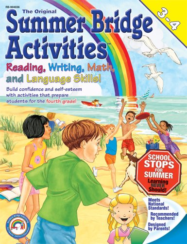 Summer Bridge Activities: 3rd to 4th Grade by Summer Bridge Activities