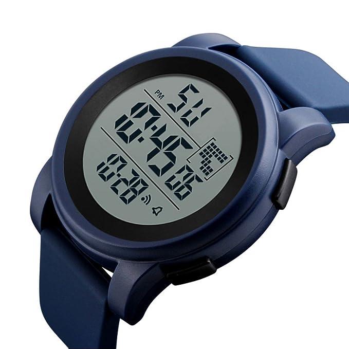 Unisex Electrónico Relojes de Pulsera, YpingLonk Militar Deporte LED Analógico-Digital para Regalo Impermeable al Aire Libre Reloj de Pulsera: Amazon.es: ...