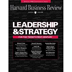 Harvard Business Review, January 2008