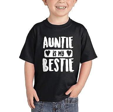 Amazon.com: Wolves Auntie is My Bestie - Camiseta: Clothing