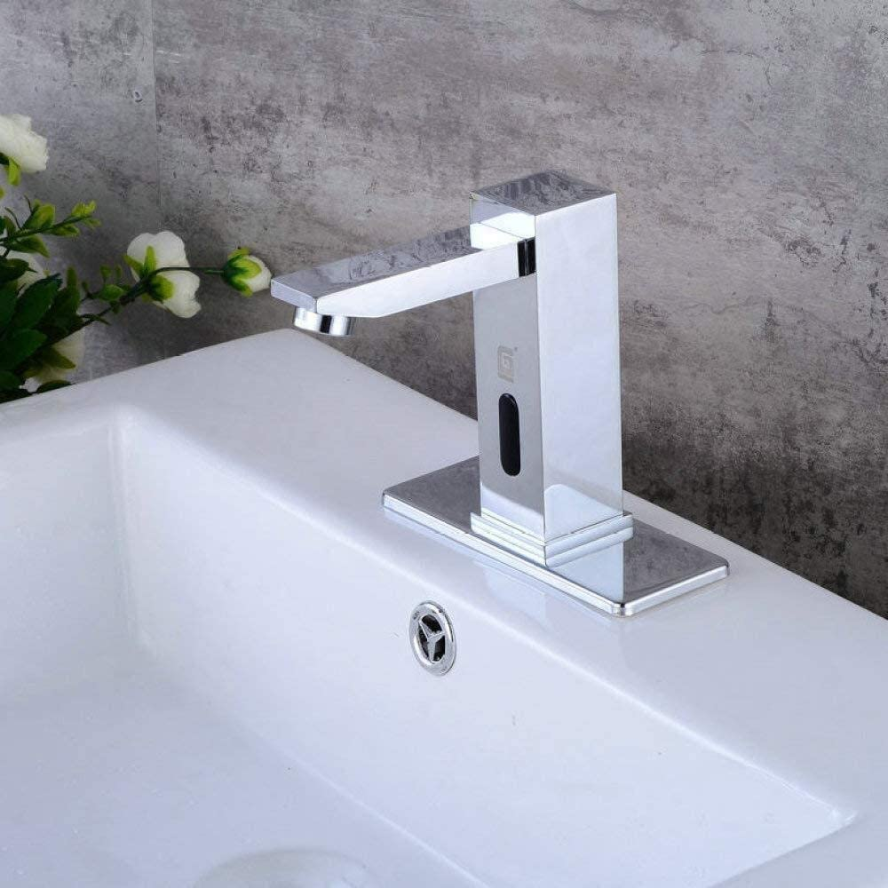 Wsw 台所の流しの蛇口浴室の流しの蛇口蛇口付きメッキ蛇口メッキ蛇口、シルバー、A 美しい実用的