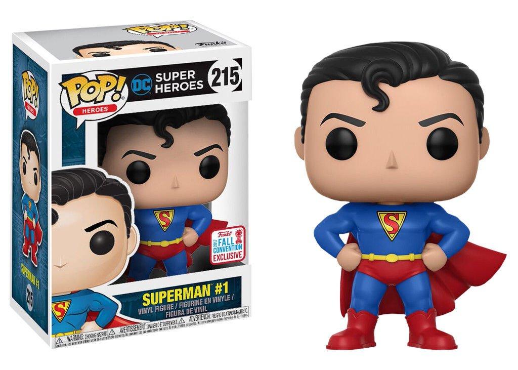 Funko POP Dc Super Heroes Superman #1 NYCC 2017 Exclusive #215