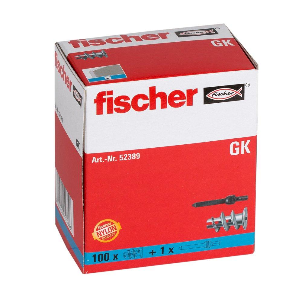 Fischer 52389 Gipskartondubel Gk 100 Stuck Amazon De Gewerbe