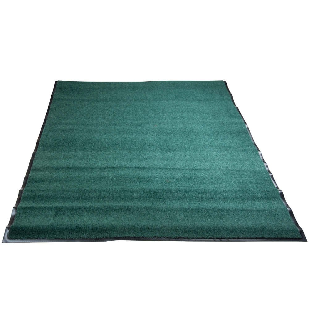 Americo Manufacturing 6109046 Ole Olefin Indoor Pile Carpet Matting, 4' x 6', Solid/Forest Green