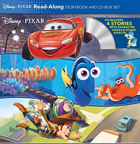 Along 2 Cd Set (Disney*Pixar Read-Along Storybook and CD Box Set)