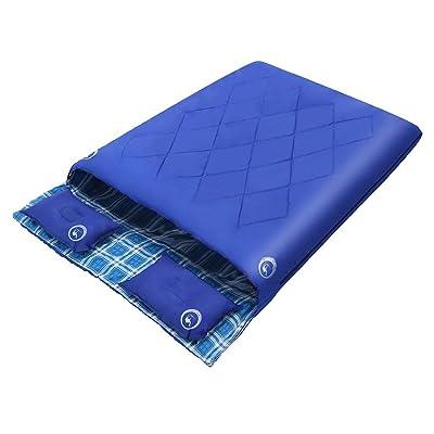 Équipement de camping extérieur plus épais de sac de couchage de coton de fibre chimique d'enveloppe 5 ? -15 ?