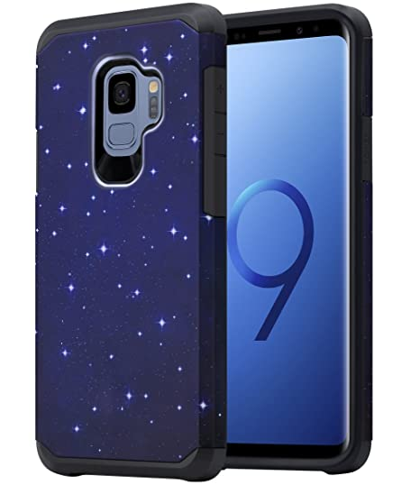 Collection Here Samsung Galaxy S9 Case Heavy Duty Layer Shockproof Hard Armor Cover Cell Phones & Accessories Cell Phone Accessories
