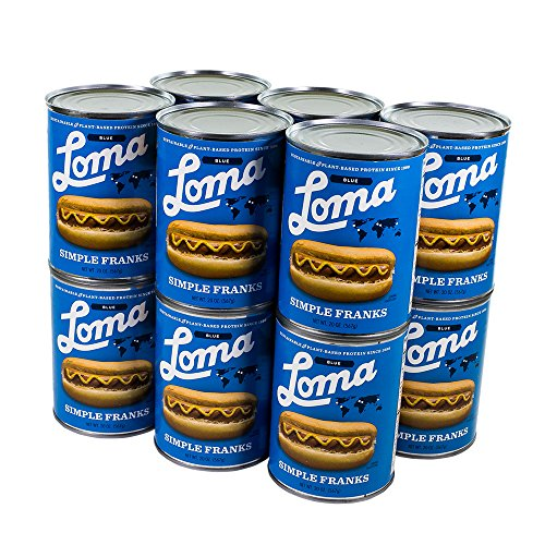 Loma Linda Blue - Vegan - Simple Franks (20 oz.) (Pack of 12) – Kosher by Loma Blue