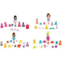 Polly Pocket Kit Amigas Super Fashion, Mattel, Loira