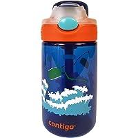 Contigo AUTOSPOUT Straw Gizmo Flip Kids Water Bottle, 14 oz, Blue