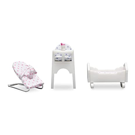 Lundby Smaland Dollhouse Baby Furniture Set