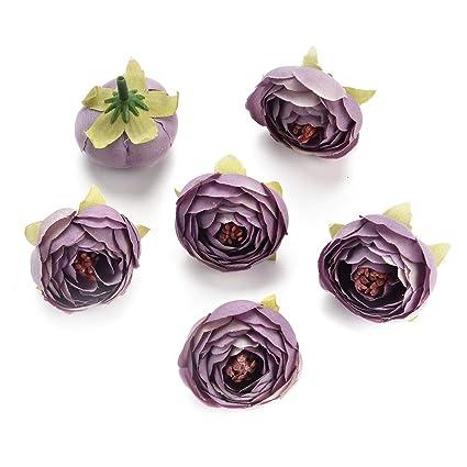 Amazon Csoudna Fake Flowers For Crafts Bulk Decoration Bouquet
