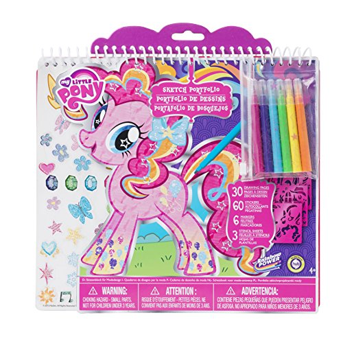 Fashion angels my little pony full size sketch portfolio for Craft sets for 7 year olds