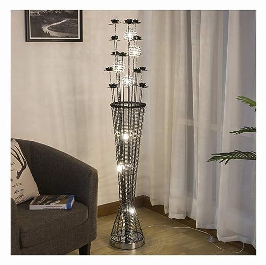 Y.H Lámparas de pie Lámpara de pie para sala de estar del ...