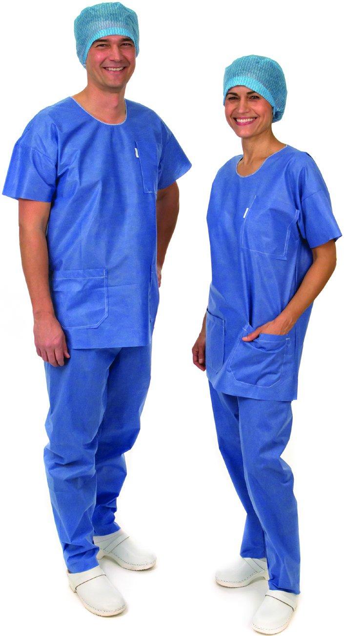 molnlycke Barrera batas desechables, camisas paquetes de 12: Amazon.es: Salud y cuidado personal