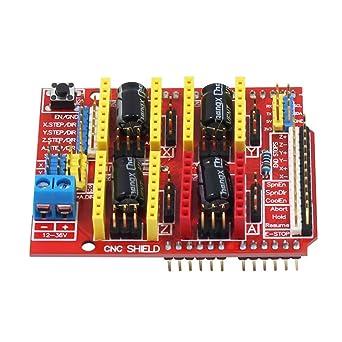 CNC Shield V3.0 placa de expansión para Arduino UNO R3, kits paso ...